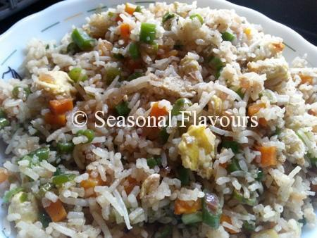 Fried Rice Recipe in Bengali Egg Fried Rice Recipe Chinese