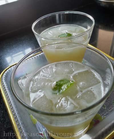 Cucumber Cooler Summer Drink | Vegetable Detox Juice