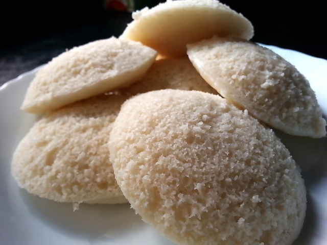 Idli Recipe with Idli Rava