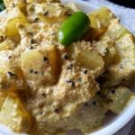 Aloo Posto Bengali Recipe - Potatoes Cooked In Poppy Seed Paste