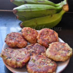 Aratikaya Cutlet With Mashed Green Plantains | Fried Plantain Patties