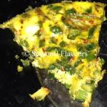 Baked Vegetable Omelette With Herbs And Cheese | Oven Baked Omelette