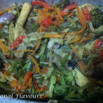 Baked Vegetables Medley With Herbs Kerala | Easy Mixed Vegetable Bake