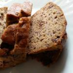 Banana Bread With Chocolate Chips | Homemade Banana Loaf Bread