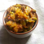 Bandhakopir Torkari Bengali Recipe - Cabbage Fry With Potato And Peas