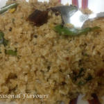 Kerala Broken Wheat Upma | Cracked Wheat Upma | Gothambu Upma