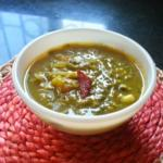 Chukkakura Pappu - Andhra Tangy Green Sorrel And Yellow Lentils Dal