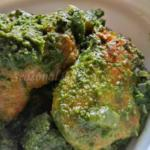 Dhonepata Maach - Bengali Coriander Fish Curry | Fish In Cilantro Sauce
