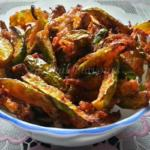Dondakaya Fry - Andhra Crispy Deep Fried Ivy Gourd | Tindora Besan Fry