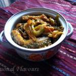 Karela Capsicum Fry Diabetic | Bitter Gourd And Bell Peppers Sabzi | Karela Fry