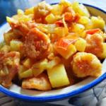 Lau Bori   Bengali Lauki Wadi Sabzi   Bottle Gourd With Lentil Dumplings