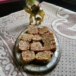 Mixed Dry Fruits Roll Sugar Free | Diwali Dried Fruit And Nuts Barfi