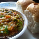 Pav Bhaji Masala Mumbai | Buttery Pavs With Mixed Vegetable Bhaji