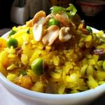 Poha Upma Recipe Maharashtrian | Kanda Batata Poha With Rice Flakes
