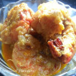 Prawn Malai Curry With Coconut Milk - Bengali Chingri Macher Malaikari