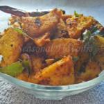 Senai Kizhangu Roast Chettinad Style With Elephant Foot Yam | Yam Fry