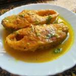 Shorshe Bhetki - Fish In Mustard Gravy | Shorshe Bata Diye Maacher Jhal