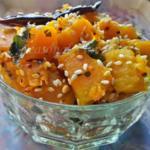 Til Kumro - Bengali Pumpkin Stir Fry With Sesame Seeds | Kaddu Ki Sabzi